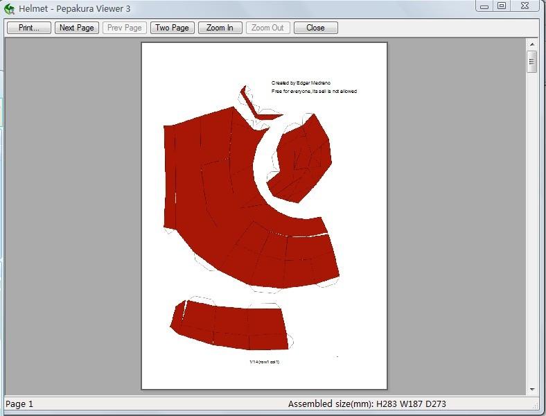 吐血奉送 钢铁侠1 绝对可戴 头盔,纸模3d图纸 想制作的 铁高清图片