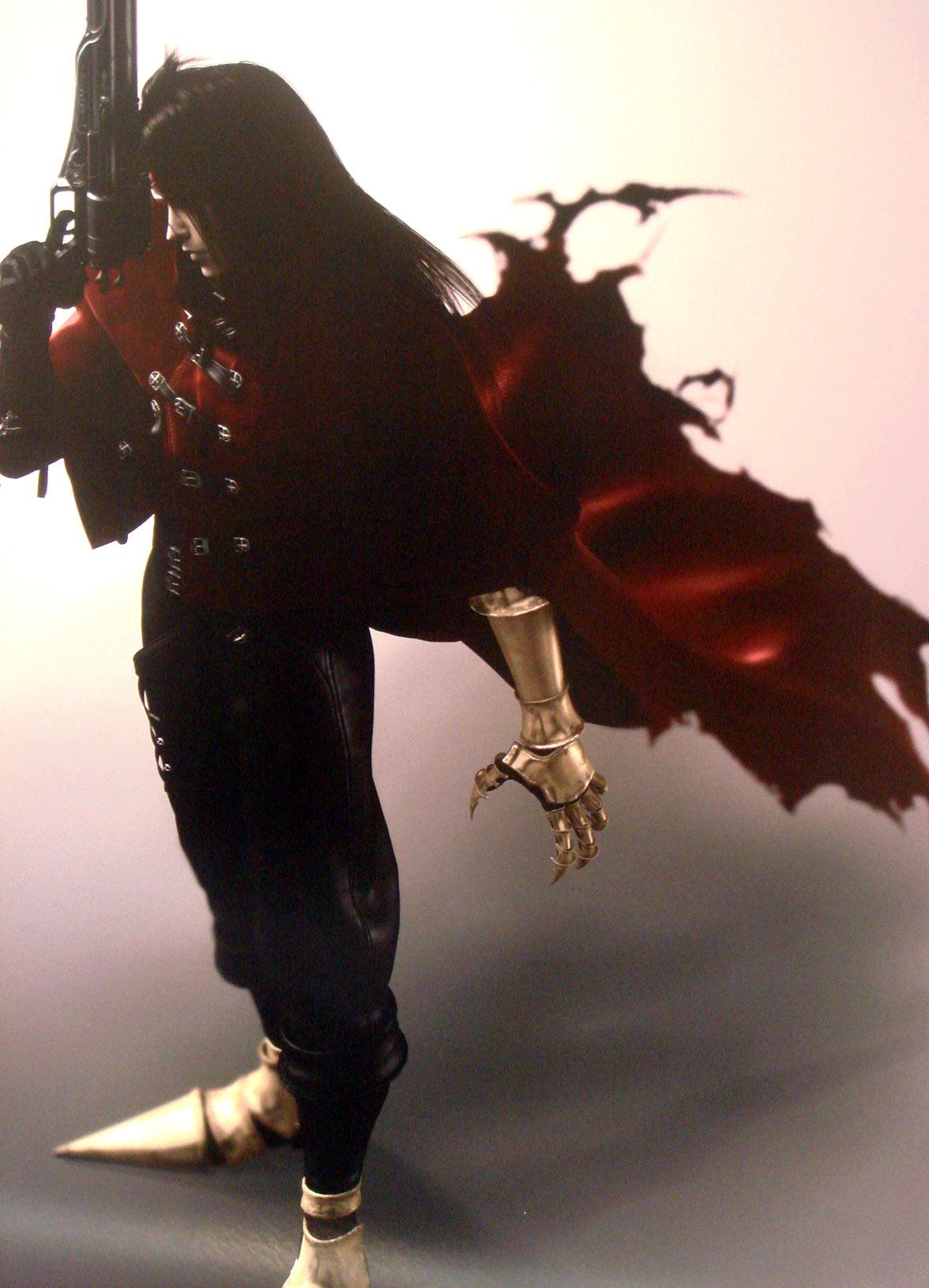 求最终幻想7文森特模型,要细致的