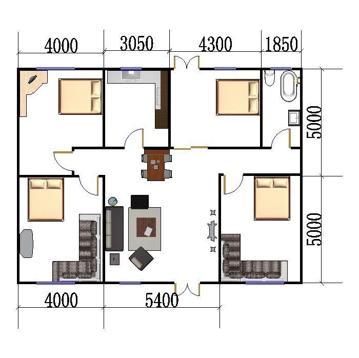 农村自住两层小楼平面图立面图设计 设计制图 时间财富网