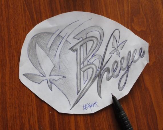 无锡纯针时代刺青工作室 字体,字母纹身设计合集图片