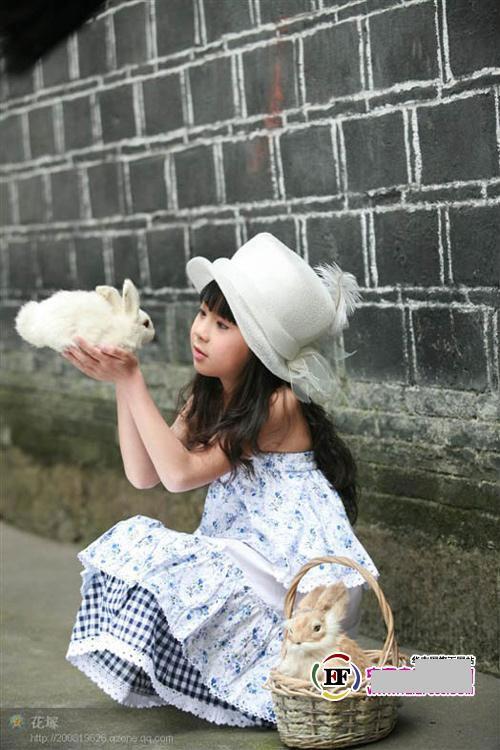 白袜小女孩 小白兔 loli控吧