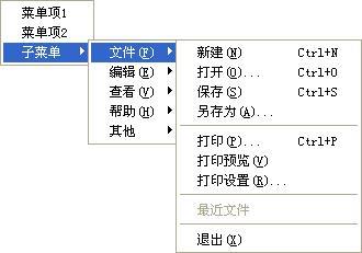 [转]MFC中的CMenu---如何动态添加菜单/菜单项,子菜单,右键菜单 - 金星 - 金清...
