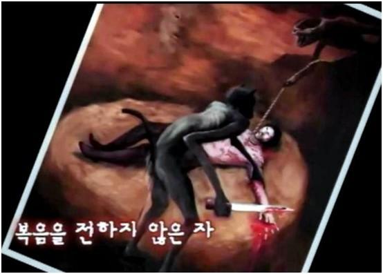 女画家被主耶稣提去地狱目睹后