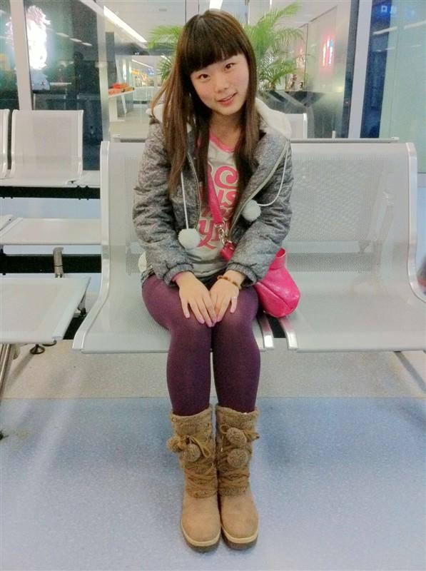 14岁的一个美丽少女