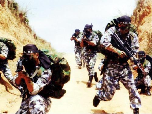 中国特种部队狙击手