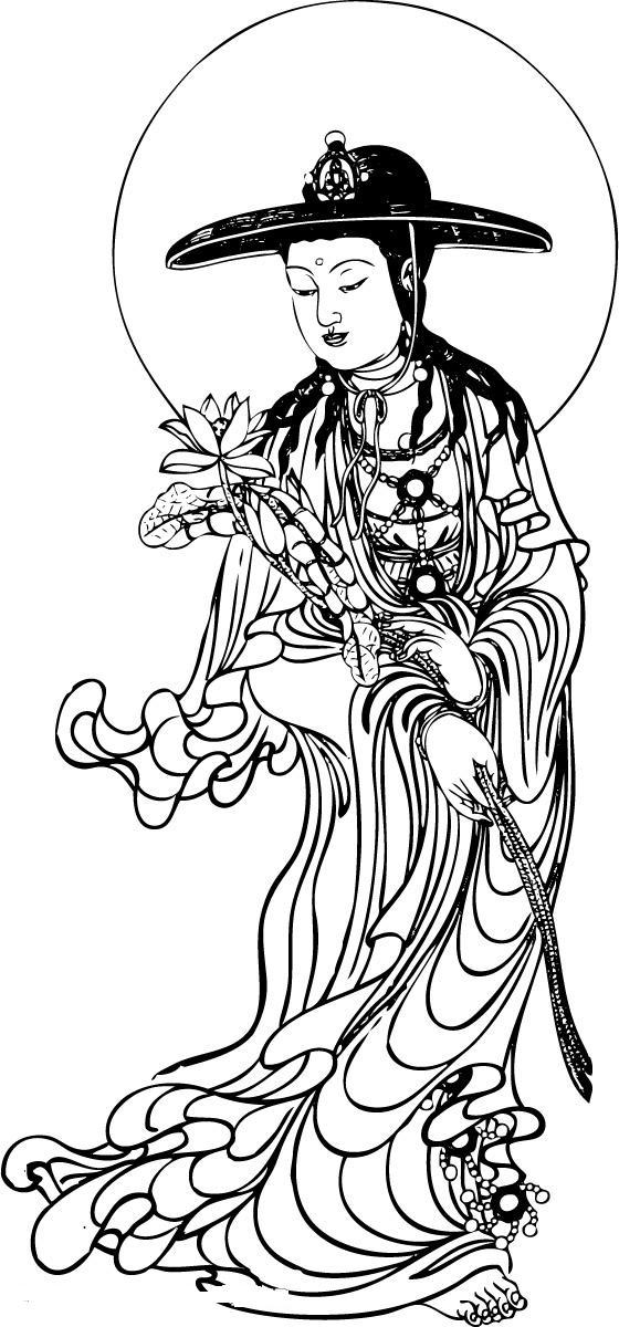 传统鲤鱼半胛纹身图片