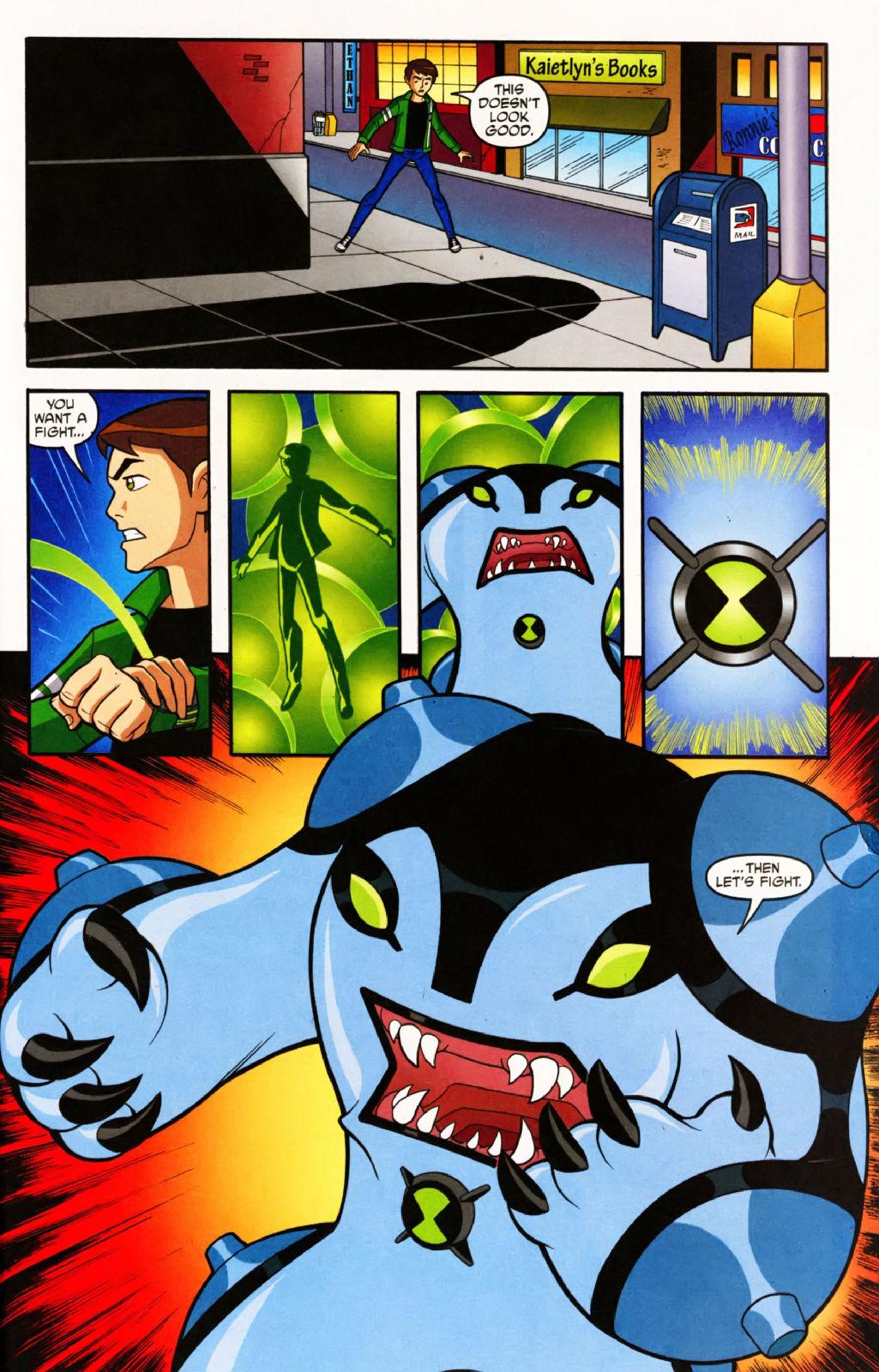 Ben10终极异形漫画 有爱了