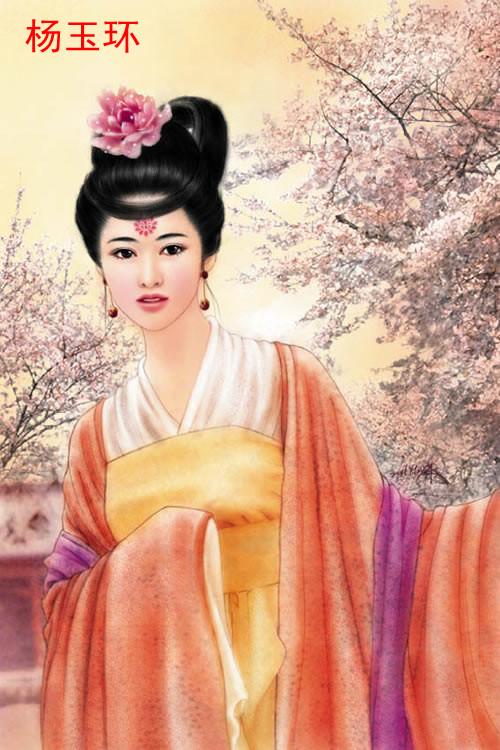 中国古代四大美女与四大丑女