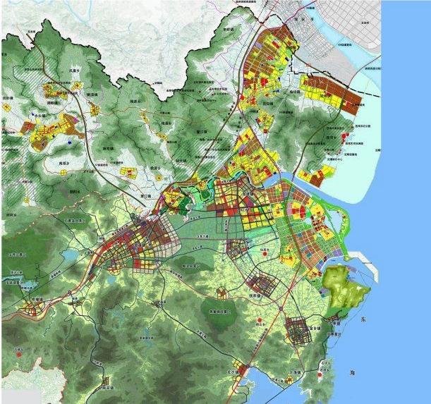 苍南规划图苍南新区规划图苍南县城规划图