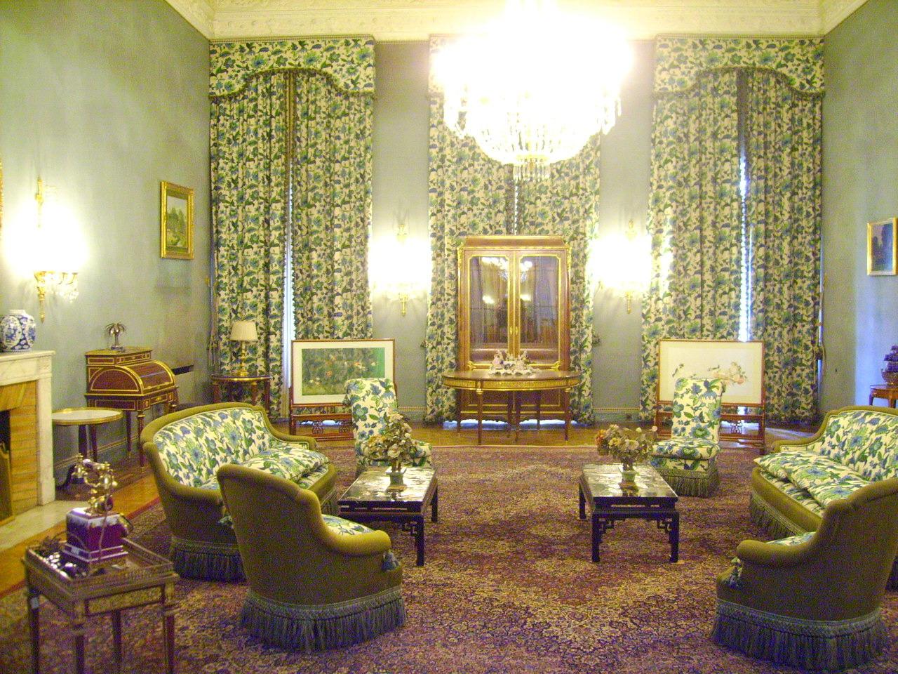 迪拜的皇宫内景图片