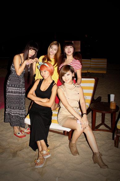 【转】穿高跟鞋跳舞的韩国美眉组合――black