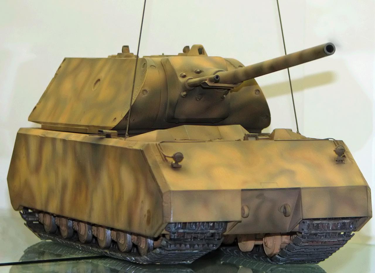 鼠式坦克高清壁纸_坦克巨兽 鼠式