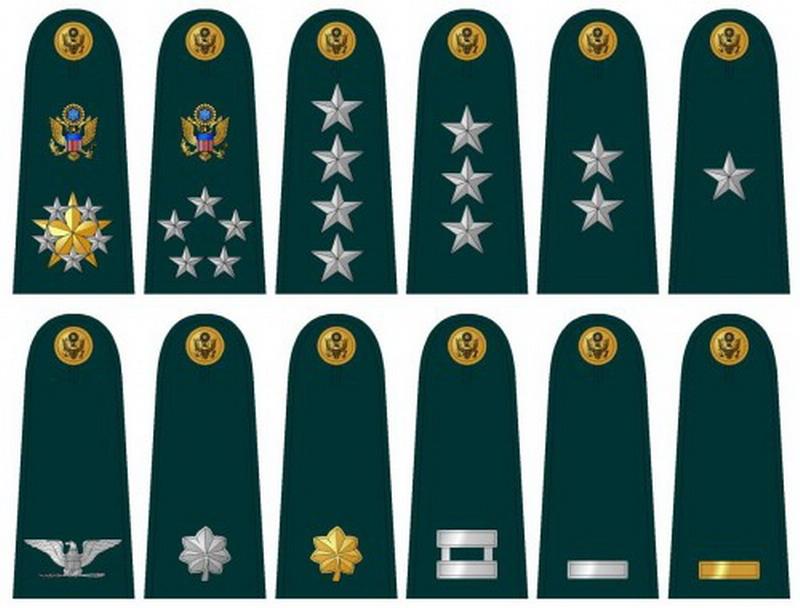 美国军衔的传说