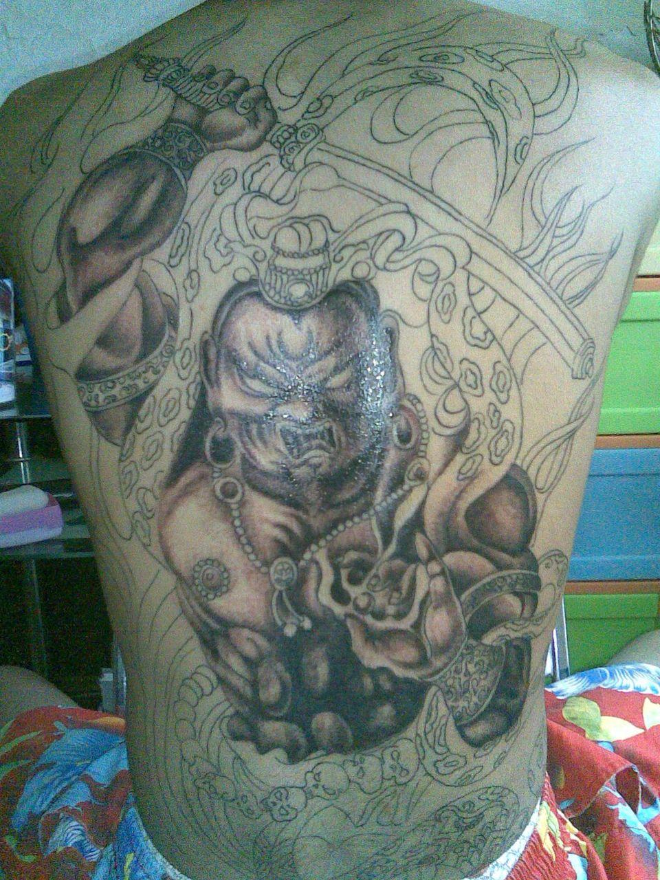 【delta】冥王哈迪斯拟人#_纹身图案图片图片