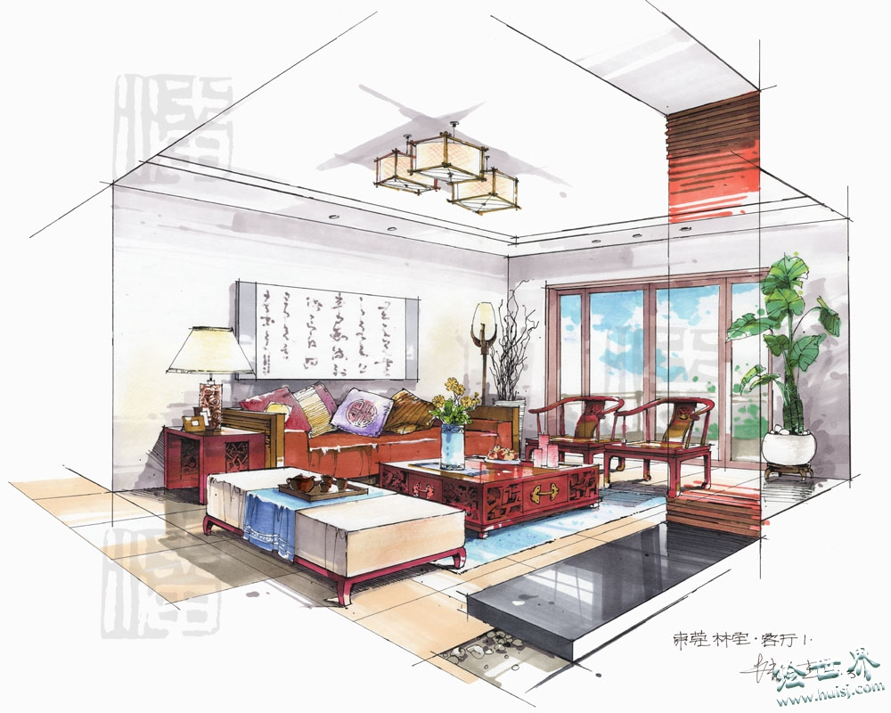 2 for Interior design drawing tips