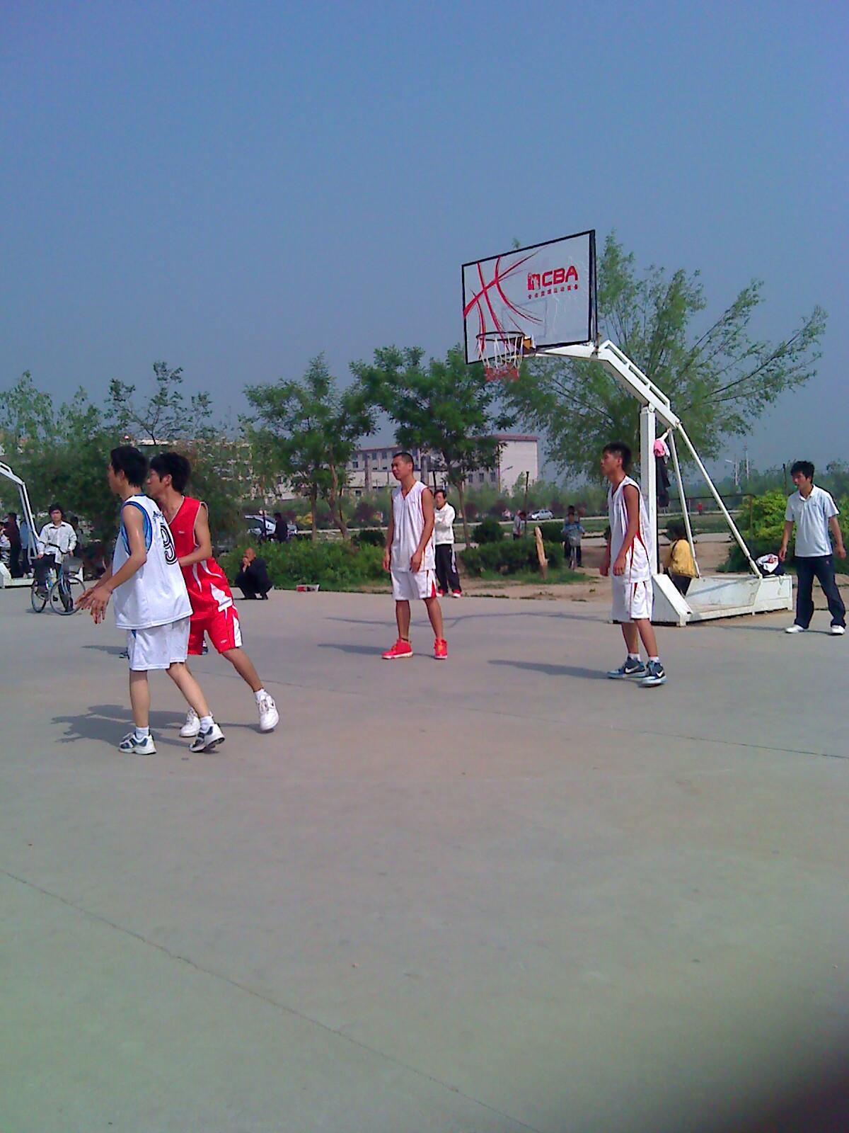阳城公园篮球赛