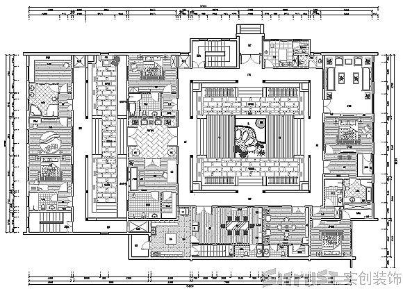 北方四合院怎么布局-中国北方四合院建筑有什么特点?图片