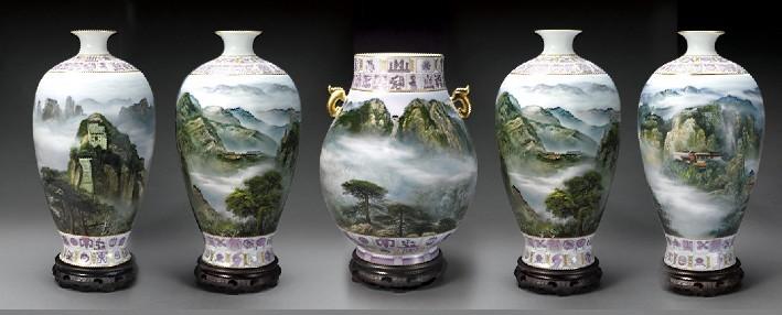中华五岳圣尊瓷瓶收藏热线:010-83472277_中国品藏俱乐部_百度空间