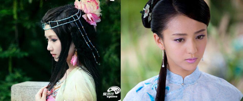 皮肤黑眼睛的中国人