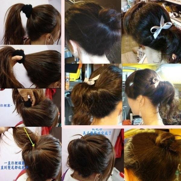 编后语:这几款发型都是当下最流行的发型了,大家学会了吗?高清图片