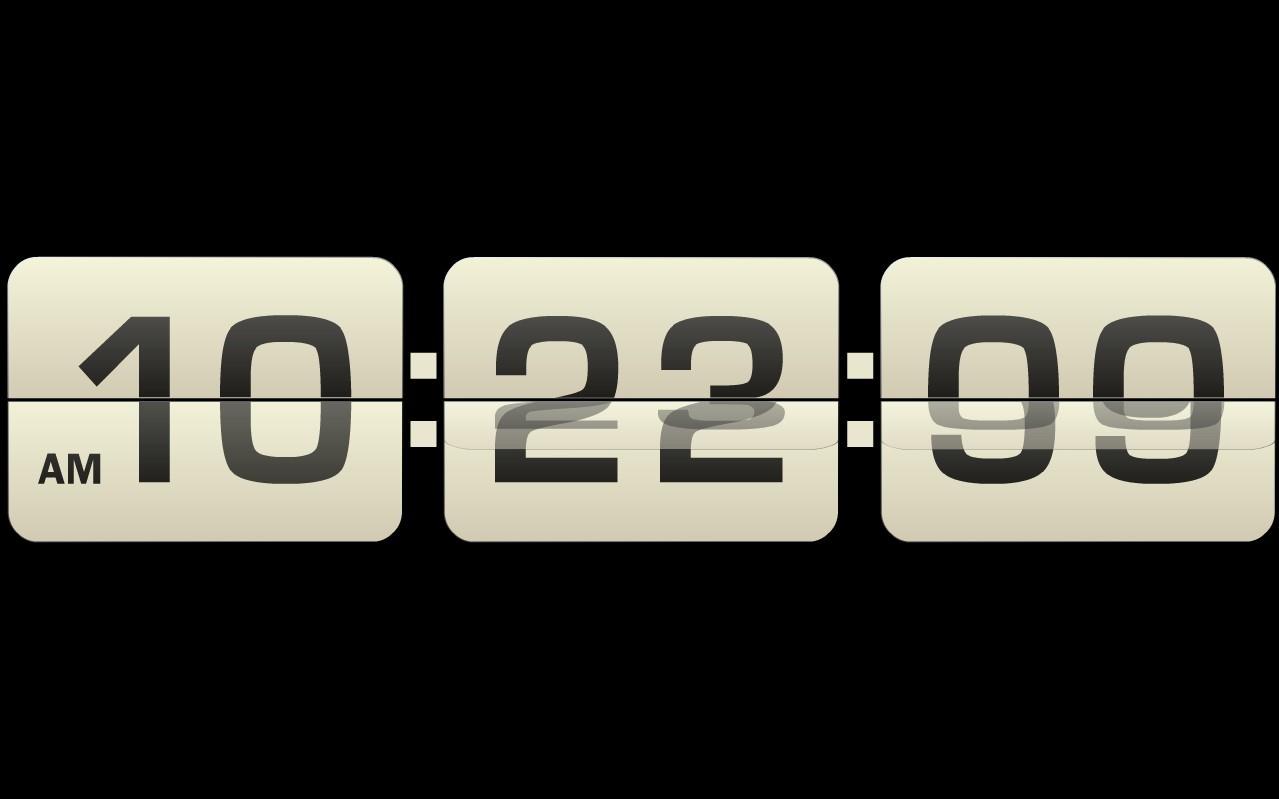 时钟屏保免费下载 win7夜光时钟屏保下载 下载时钟屏保