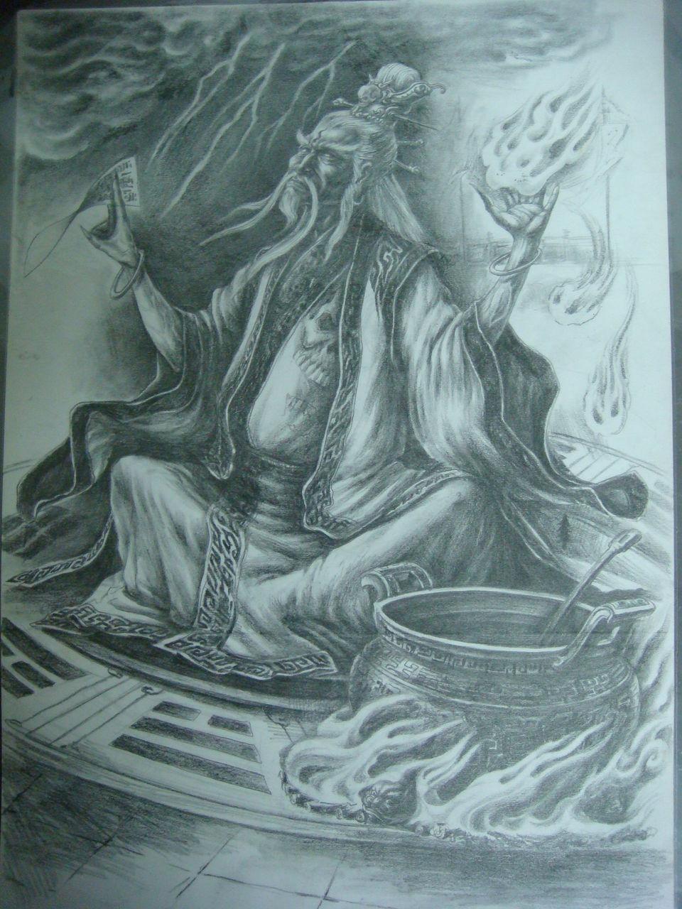 绘画-三国人物(续)--铁匠洛克图片