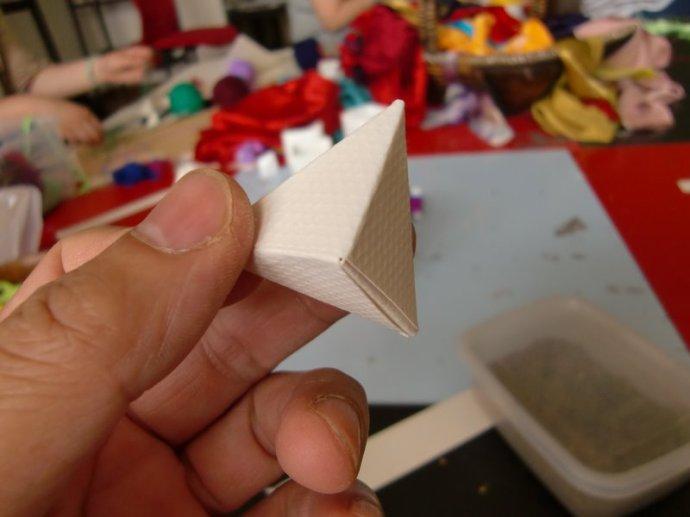 端午 节 纸 粽子 制作 方法 纸 粽子 步骤 手工