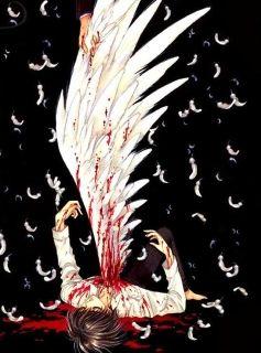 滴血的天使的图片图片