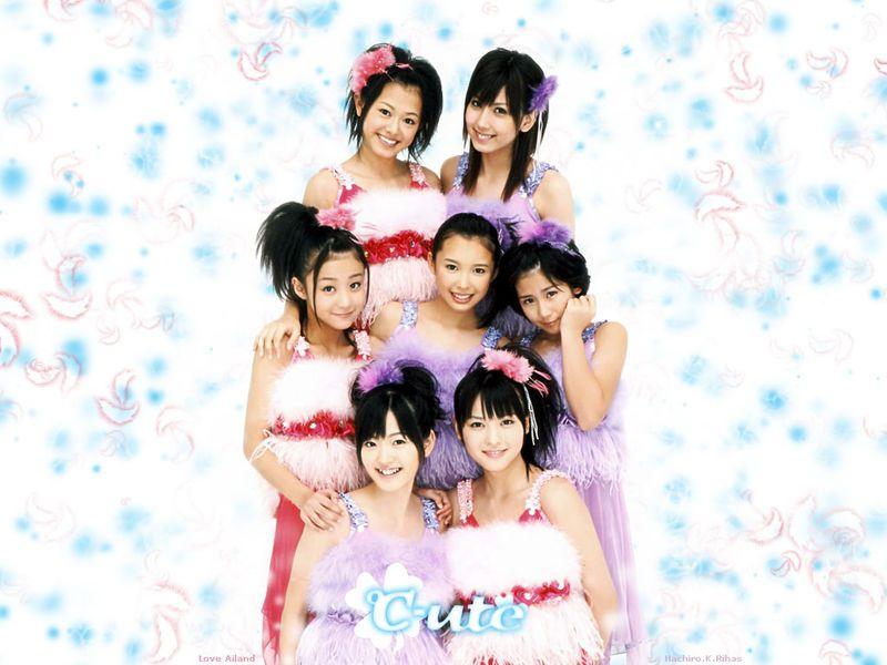 日本最可爱的美少女组合?