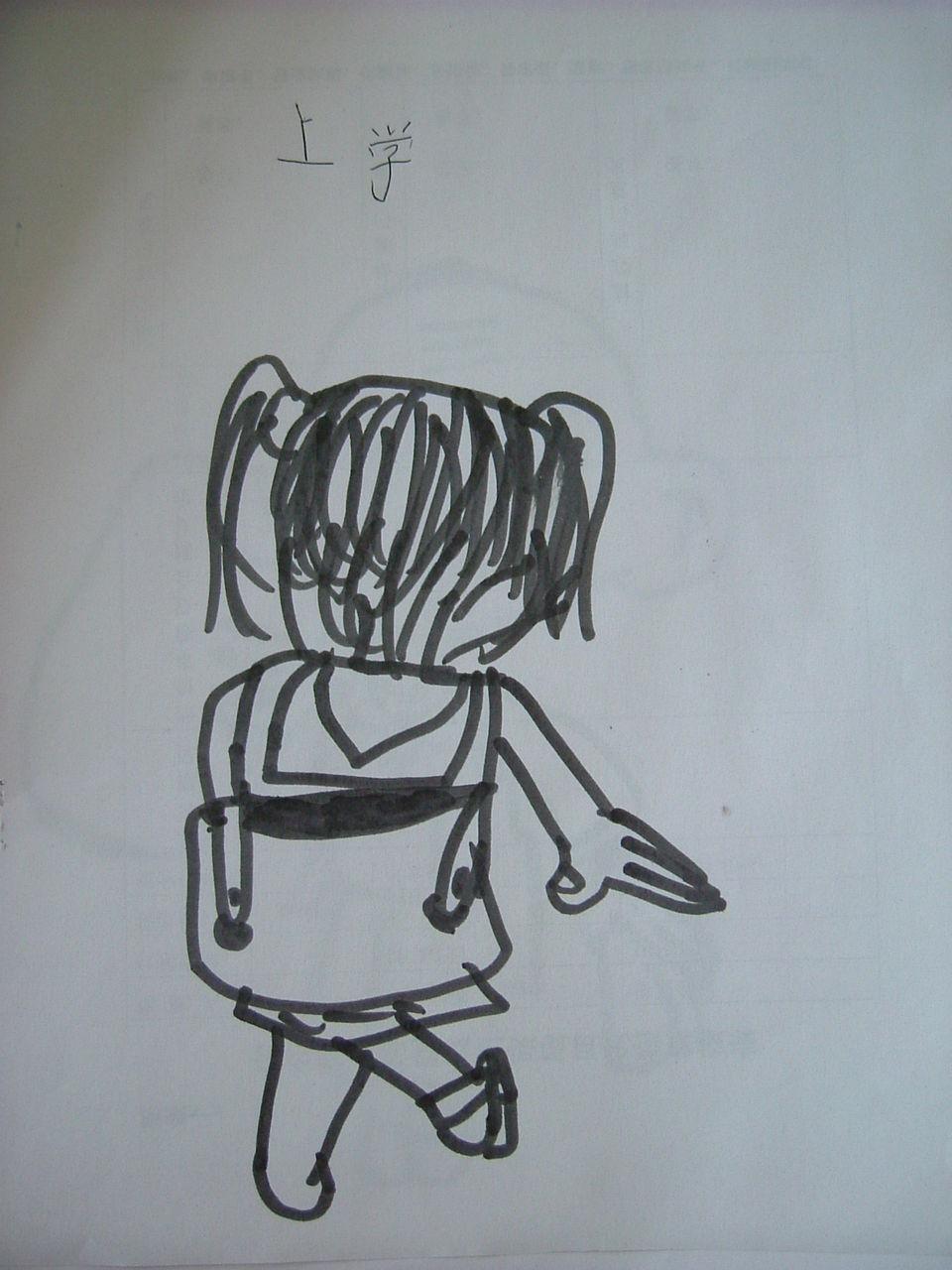 儿童简笔画大全:上学去 如何进行简笔画教学 后肢作 ...