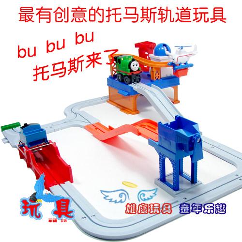 托马斯轨道火车轨道玩具电动轨道托马斯采石场2 雄鹰玩具的空间