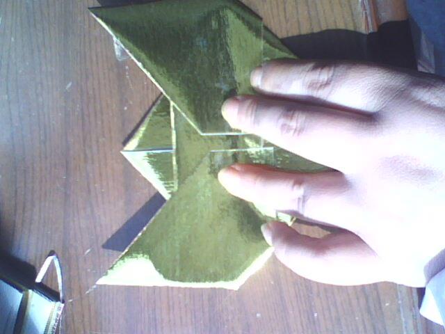 雙16金元寶折法圖解