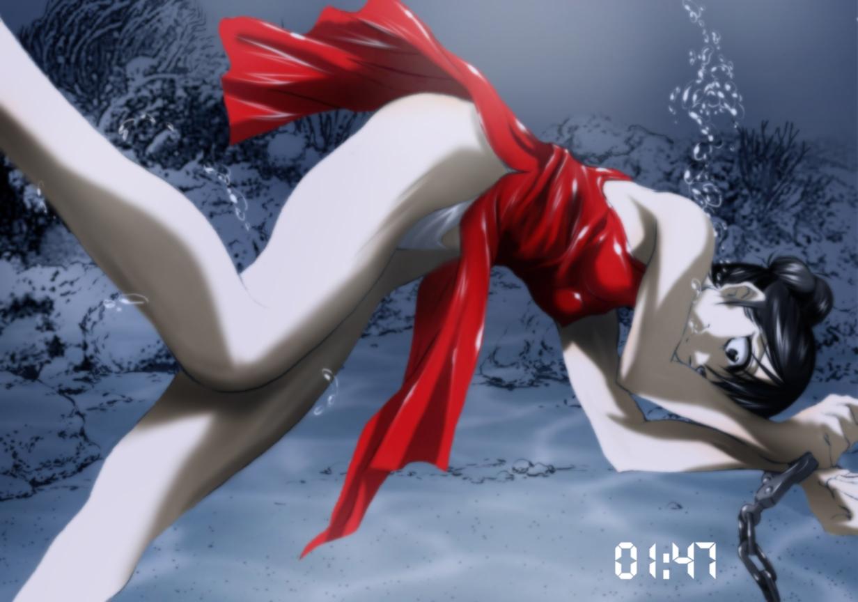 美眉溺水死亡