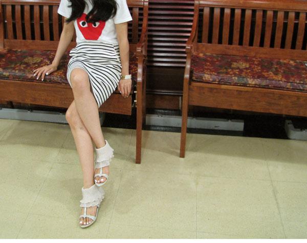 【fashion*图图】韩国女生之脚上风景推荐