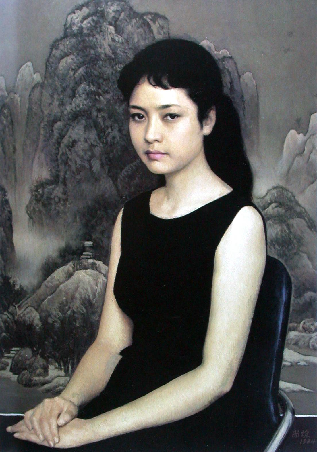 靳尚谊作品(往届中国美术家协会主席) - 古羊书画工作室 - 古羊书画工作室 欢乐