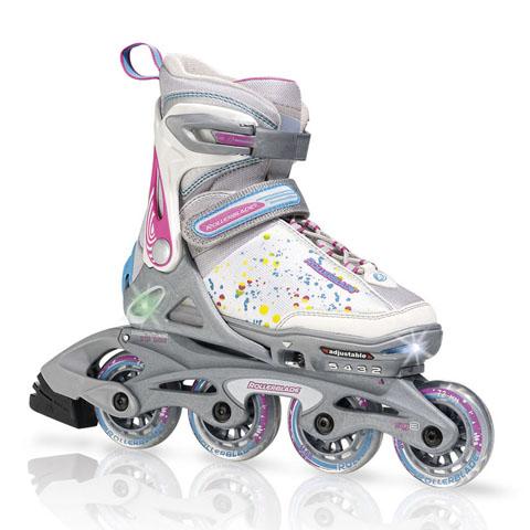 Rollerbladespitfireflash方法轮滑鞋编织儿童_Y红绳介绍手链视频步骤图片