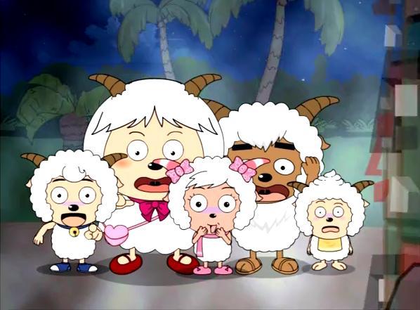 喜羊羊的各种表情分享展示图片