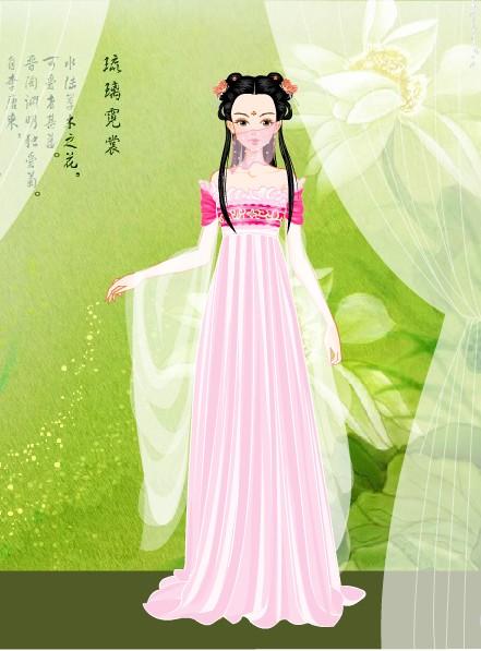 【游戏】琉璃霓裳――古装美女换装