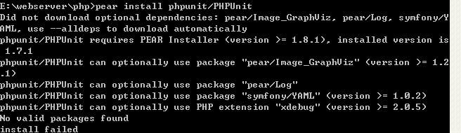 win XP 下  wamp集成环境的PHPUnit安装  【转+补充】 - Goith - PHP