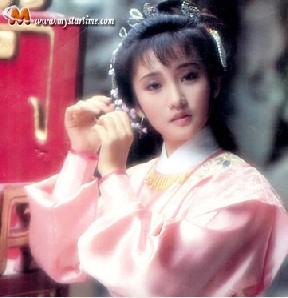 喜欢的香港古装电视剧里的美女们