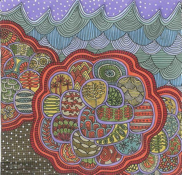 ... 园创意蜡笔画幼儿园创意蜡笔画 幼儿园蜡笔画图片