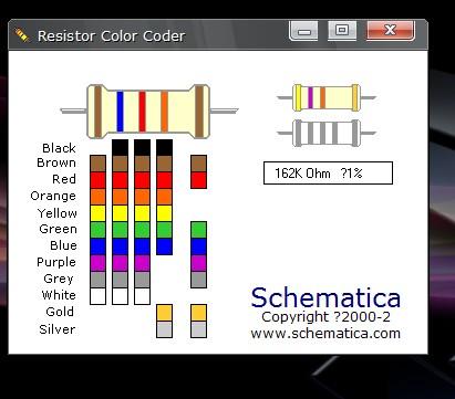 色环电阻计算_色环电阻计算器_色环电感标示法