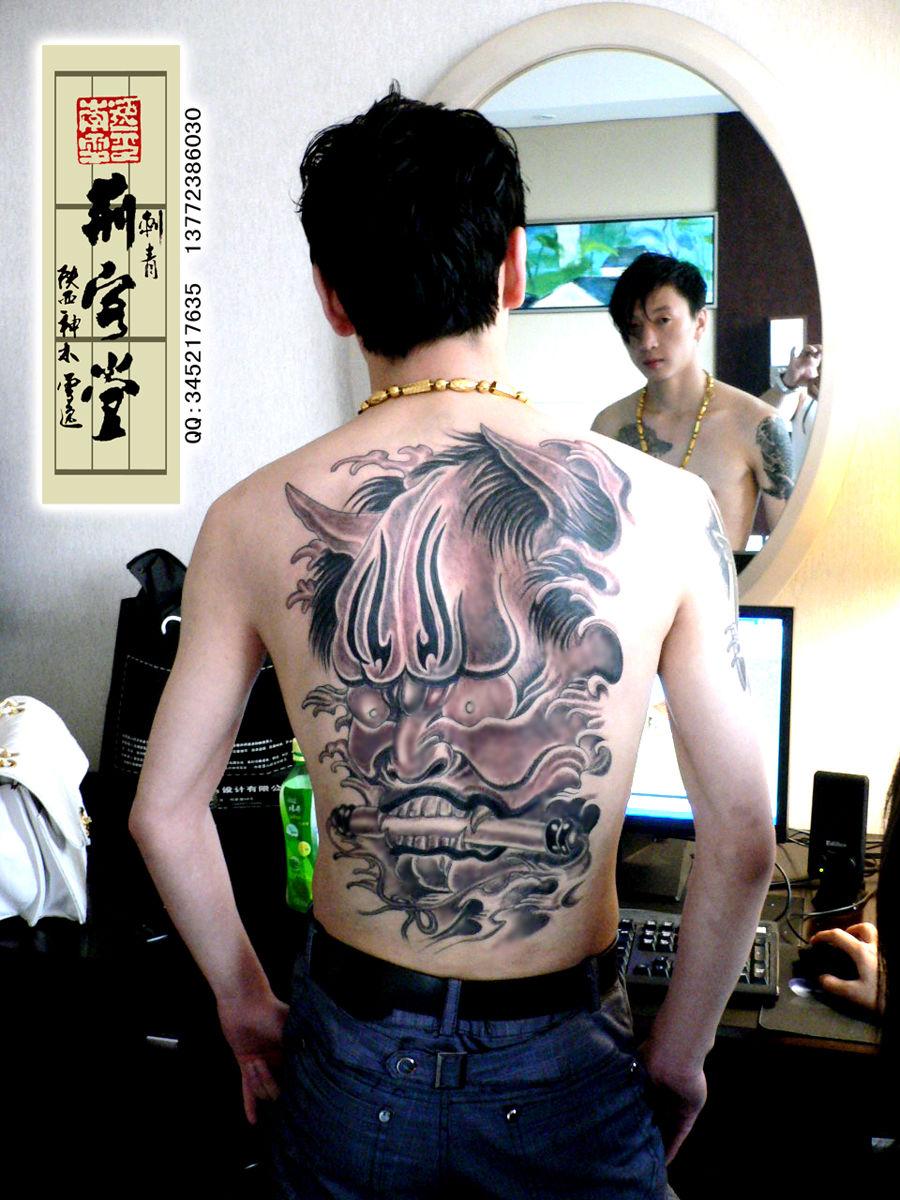 刺青馆男士背部后背满背赵云修改刺青纹身图片   谁身上有纹高清图片