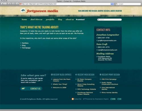 CSS-固定-页脚