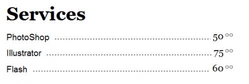 CSS-目录菜单