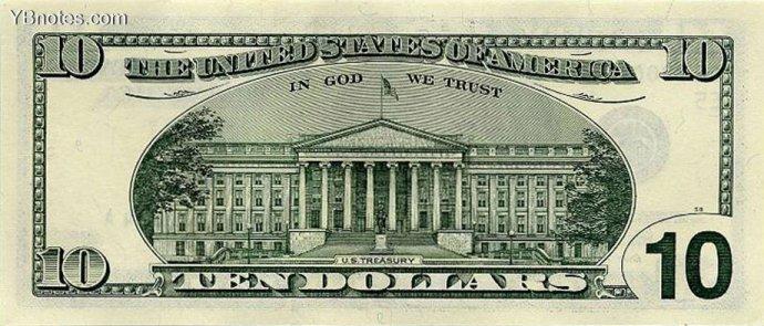 美元纸币图片欣赏