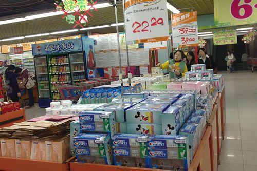 超市牙膏堆头摆放图图书堆头的摆放造型堆头摆放图