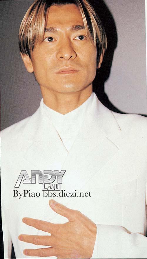 谁有刘德华1999年黄色头发二分头的图片图片