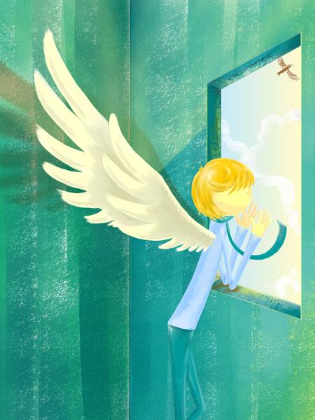 那天晚上,她在路灯下看到一个天使 - 枫情绝舞 - Feng·Zone