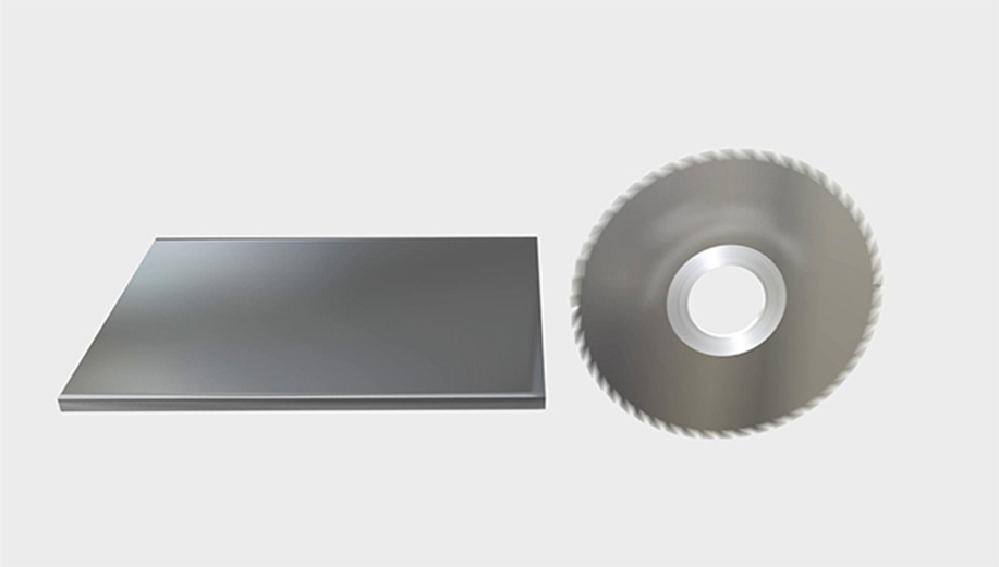 锯片铣刀三维动画